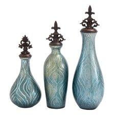 3 Piece Decorative Jar Set