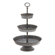 3 Tiered Metal Serving Tray