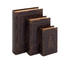 3 Piece Italian Inspired Book Box Set
