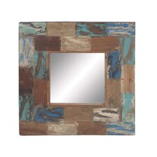 <strong>Woodland Imports</strong> Reclaimed Wood Mirror
