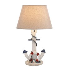 "Anchor 23"" H Table Lamp with Empire Shade"