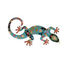 Iron Gecko Decor