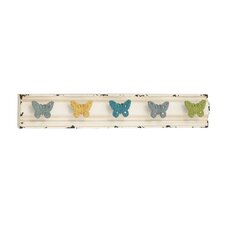 Chaps Butterfly Coat Rack
