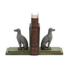Polystone Sitting Labrador Book Ends (Set of 2)