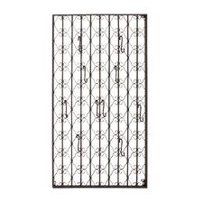Metal Wall Hook Panel