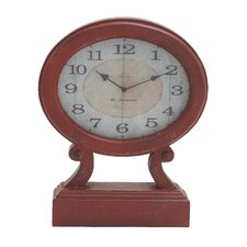 Rustic Wood Table Clock