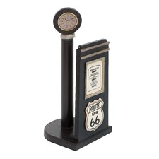 "Manhattan Vintage ""US 66"" Paper Holder Figurine"
