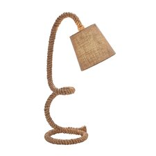 "Rope Task 29"" H Table Lamp with Empire Shade"
