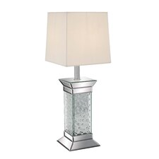"Elegant 28"" H Table Lamp with Square Shade"