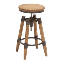 Metal Adjust Bar Stool