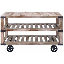 Rustic Console Cart