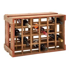 24 Bottle Tabletop Wine Holder