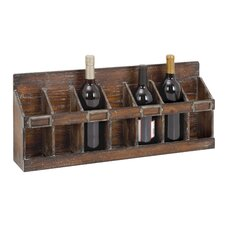 7 Bottle Wine Rack