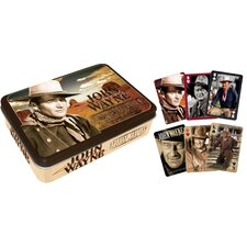 John Wayne Playing Card Tin Set