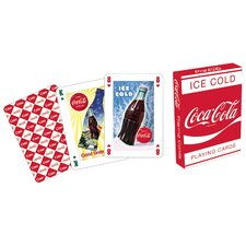 <strong>Aquarius</strong> Coca - Cola Red Playing Cards