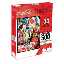 <strong>Aquarius</strong> Coca - Cola Jigsaw Puzzle