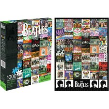 <strong>Aquarius</strong> Beatles Singles 1000 Piece Jigsaw Puzzle