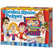 <strong>4M</strong> Wooden Spoon Puppet Theater