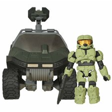 Halo Minimates Warthog Military Vehicle