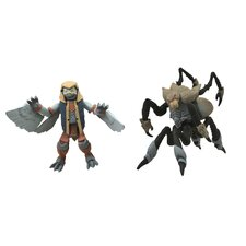 Battle Beasts Minimates Series 1: Merck and Spider (Set of 2)