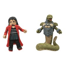 Battle Beasts Minimates Series 1: Snake and Bliss (Set of 2)