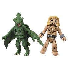 Marvel Minimates Series 51: Shanna and Sauron (Set of 2)