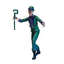 DC Comics Batman: Arkham City Series 2 Riddler Action Figure