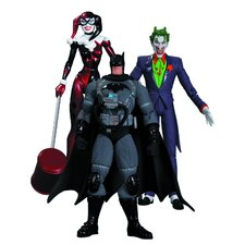 Batman Hush 3 Piece Action Figure Set