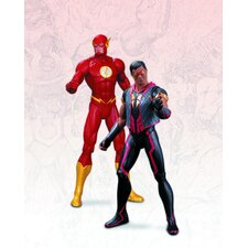 <strong>Diamond Selects</strong> DC The New 52 2 Piece Flash Vs. Vibe Action Figure Set