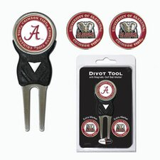 NCAA Marker Signature Divot Tool - Pack of 3