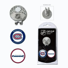 NHL Two Marker Cap Clip