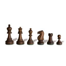 Double Weight Wood Chessmen