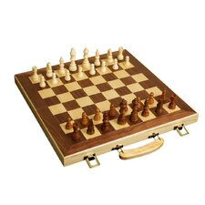 "<strong>Sunnywood</strong> 16"" Folding Chess Set"