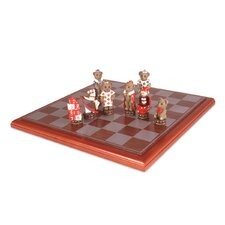 <strong>Sunnywood</strong> Teddy Bear Chess Set