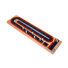 Wooden Triple Track Cribbage Board