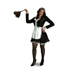 Lava Diva Chambermaid Costume