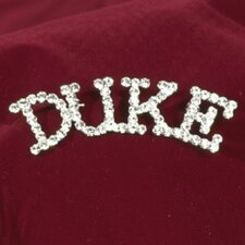 """Duke"" Rhinestone Pin"