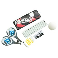 Volleyball/Frescobol Combo Game Set