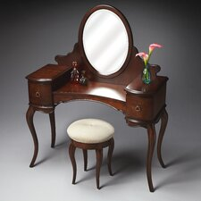 Plantation Vanity with Mirror