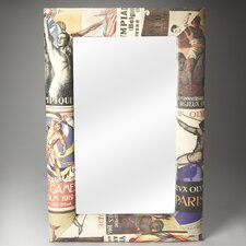 <strong>Butler</strong> Artifacts Olympus Upholstered Wall Mirror