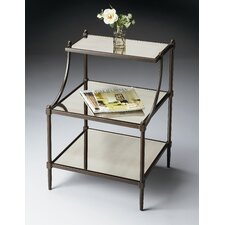 Metalworks 3 Tiered End Table
