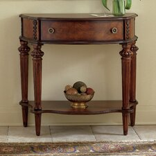 Plantation Cherry Demilune Console Table