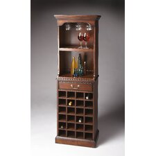 Plantation Cherry 24 Bottle Wine Cabinet