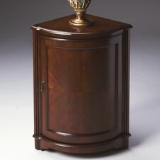 <strong>Butler</strong> Plantation Cherry Corner Cabinet End Table