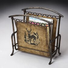 <strong>Butler</strong> Mountain Lodge Magazine Rack