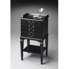 Masterpiece Silver 4 Drawer Chest