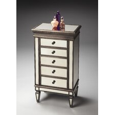 Masterpiece Jewelry 5 Drawer Chest