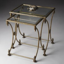 <strong>Butler</strong> Metalworks 2 Piece Nesting Tables