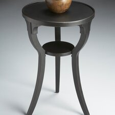 <strong>Butler</strong> Black Licorice Round End Table