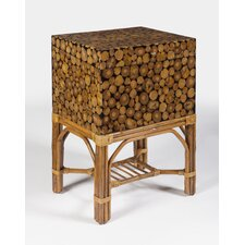 Designer's Edge Bali Rattan File Chest